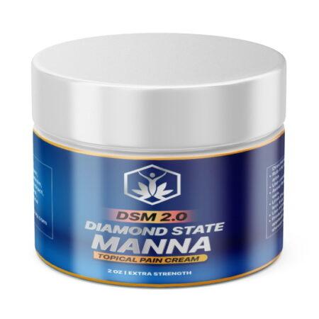 Diamond State Manna pain relief cream